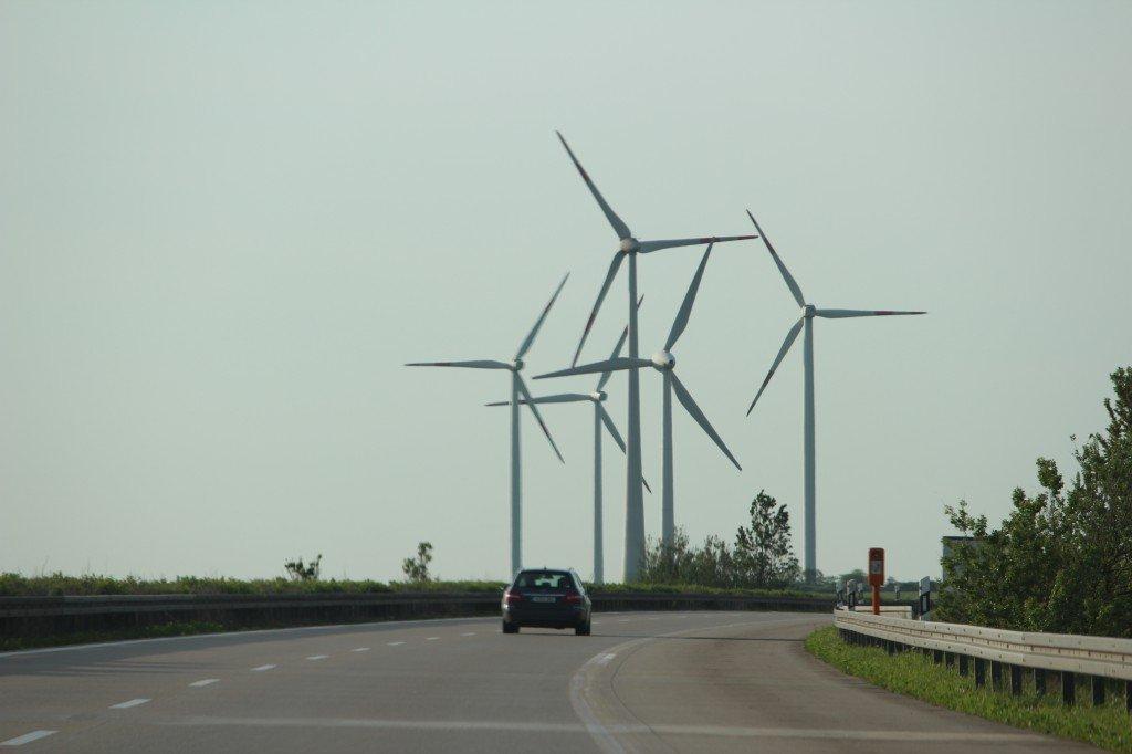 ветряки в германии