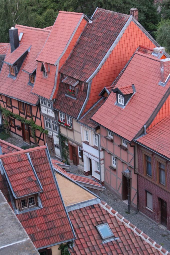 город кведлинбург германия