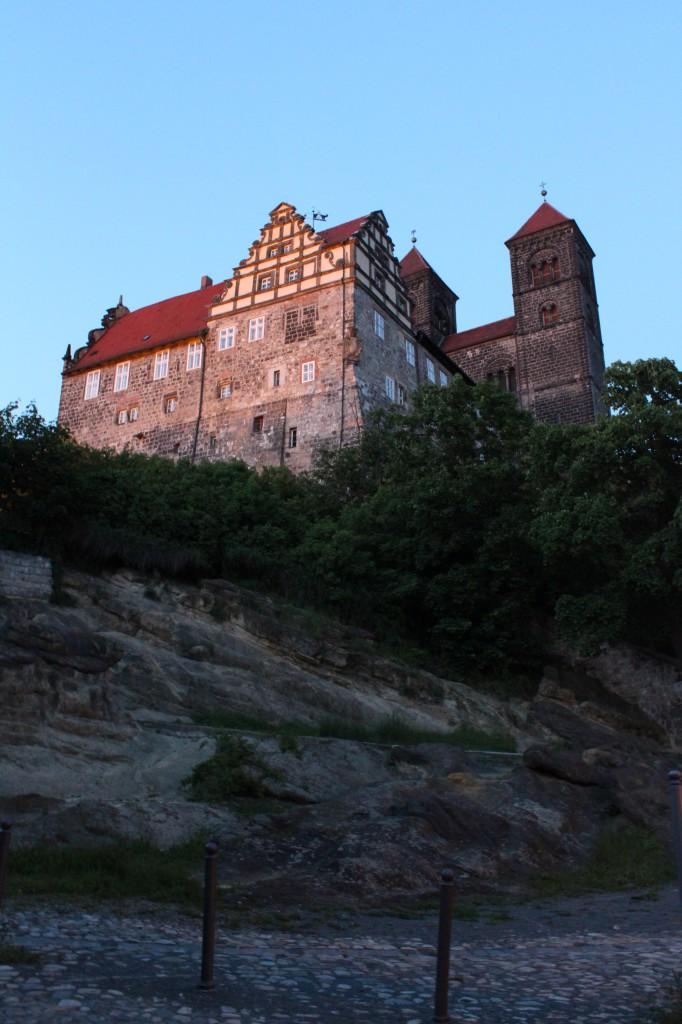 красивые замки германии кведлинбург