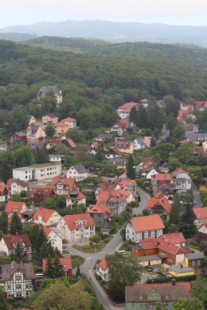 замок вернигероде германия