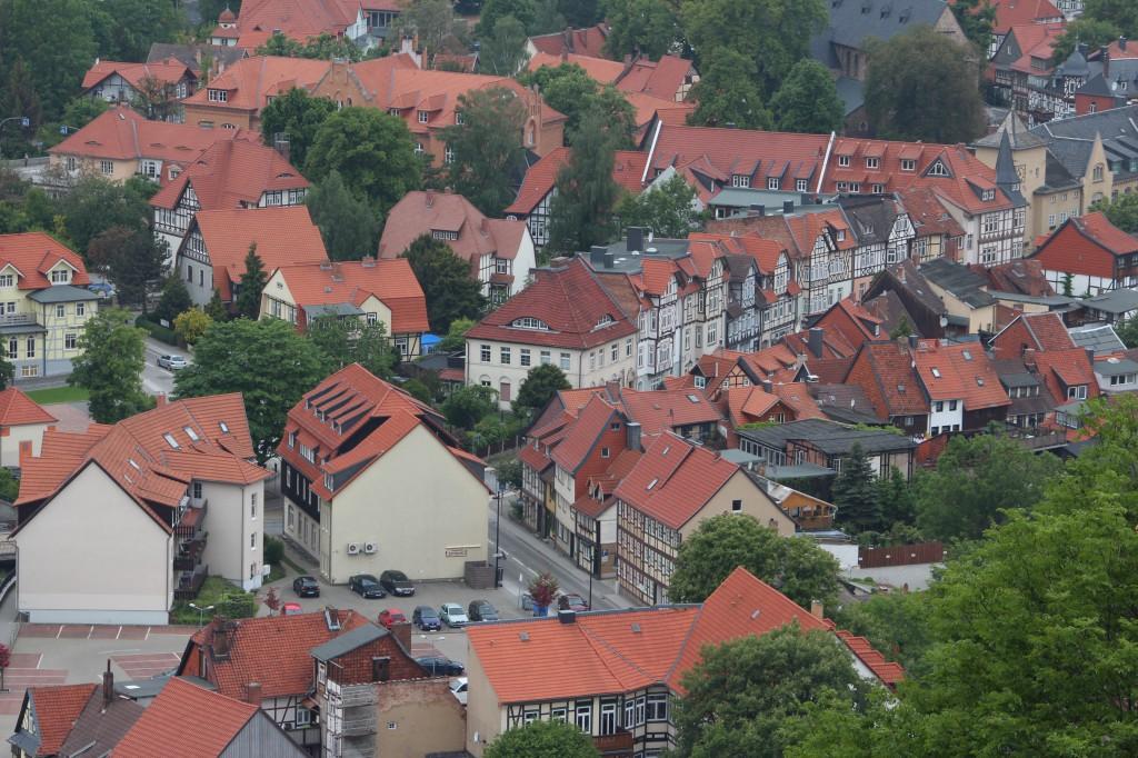 город вернигероде германия