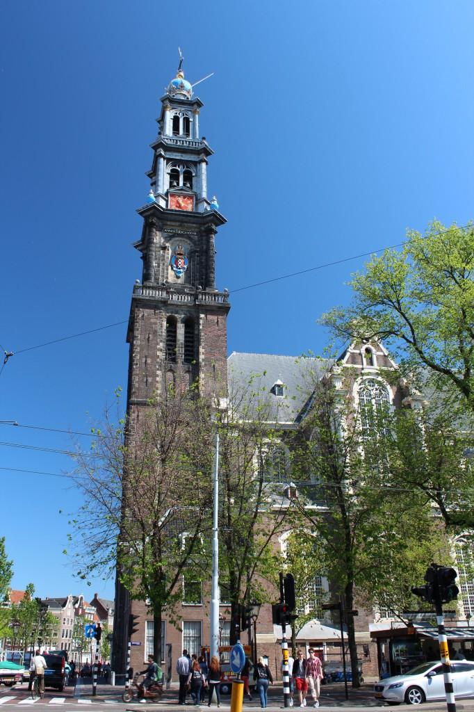 церковь Westerkerk амстердам