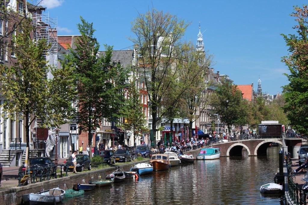 город амстердам фото