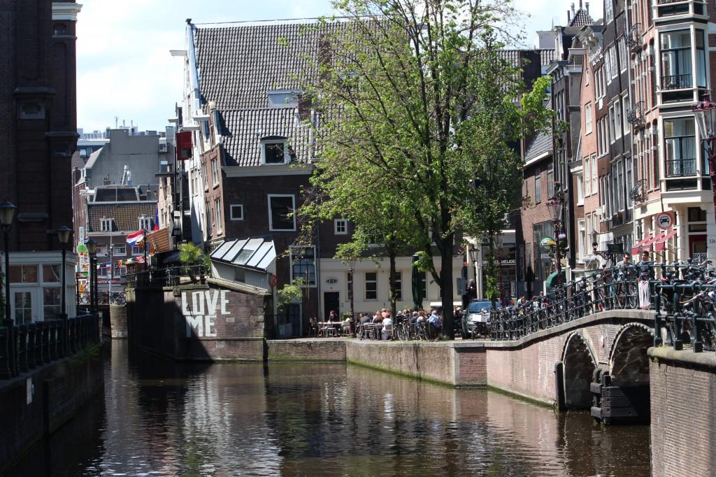 амстердам достопримечательности велосипед