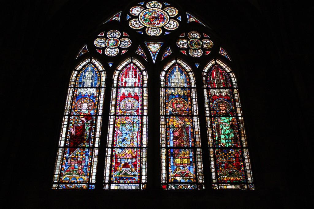 витражи страсбургский собор