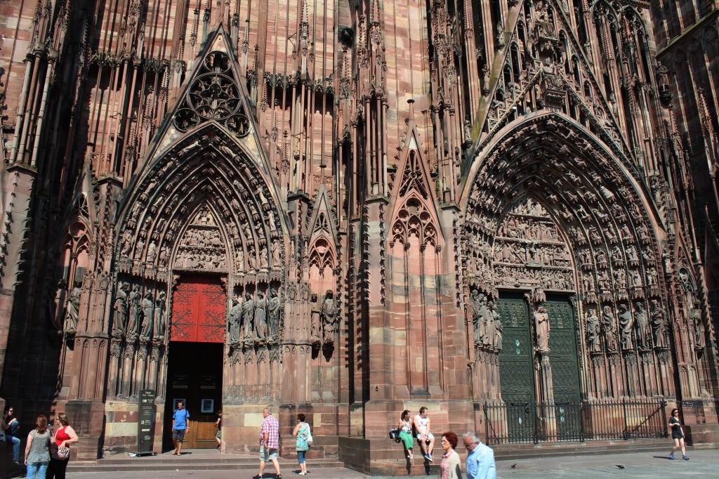 страсбургский собор страсбург