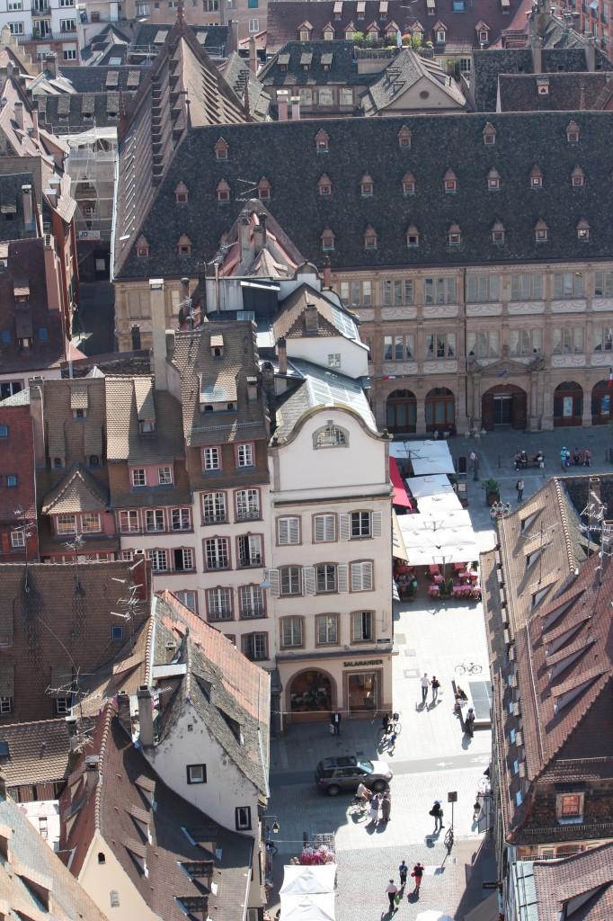 обзорная площадка страсбург