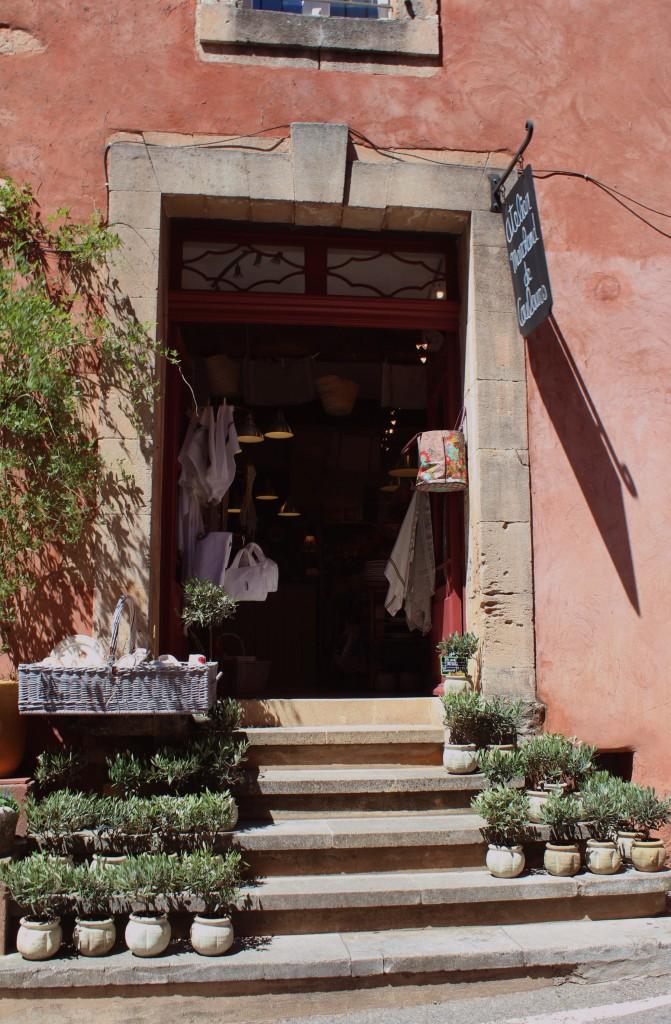 Руссийон Руссильон Roussillon Франция достопримечательности