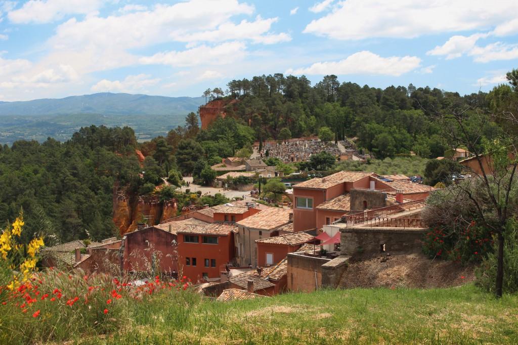 Руссийон Руссильон Roussillon Франция фото