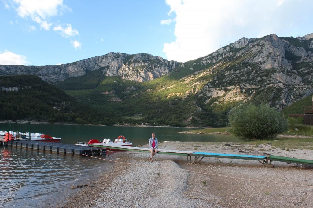 озеро сент круа прованс франция