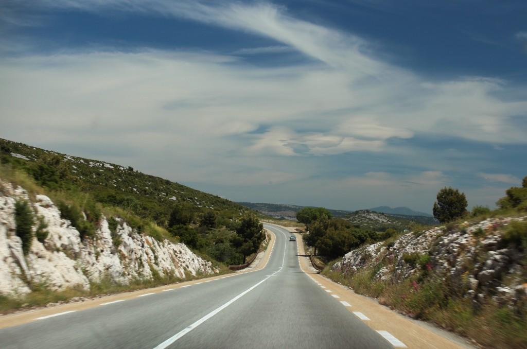 путешествие на машине прованс франция