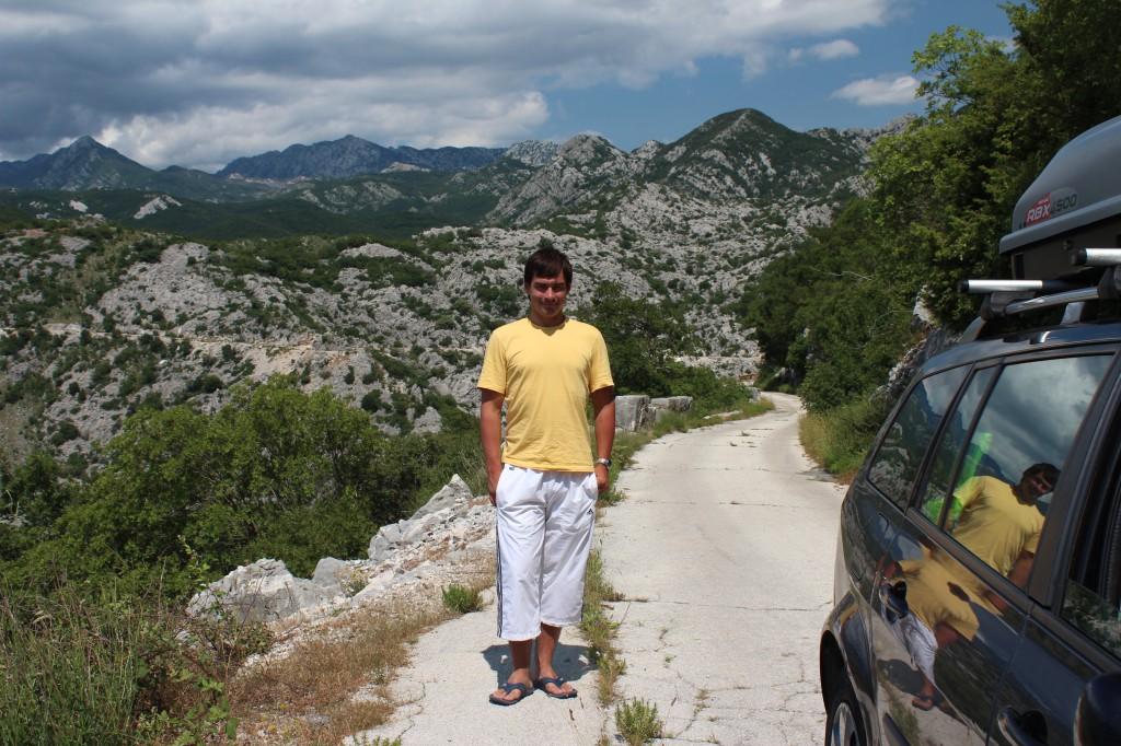 в черногорию на авто 2013