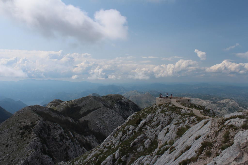 мавзолей негоша на горе ловчен черногория