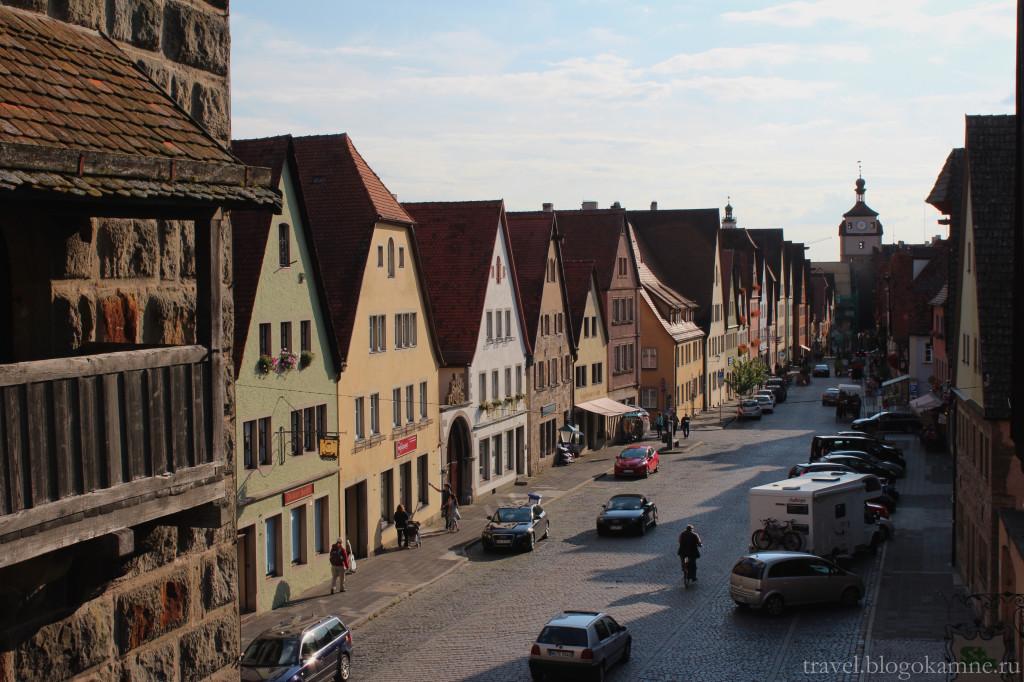 ротенбург на таубере фото улицы