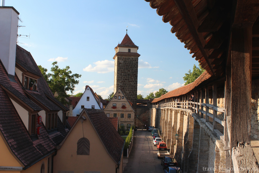 ротенбург на таубере германия