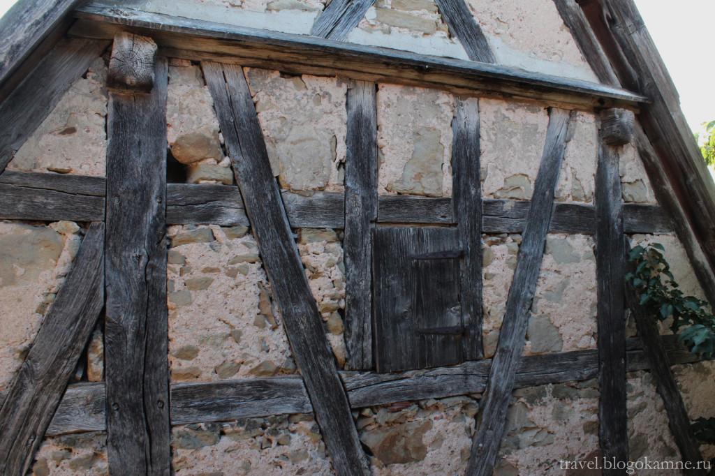 ротенбург на таубере средневековый фахверк