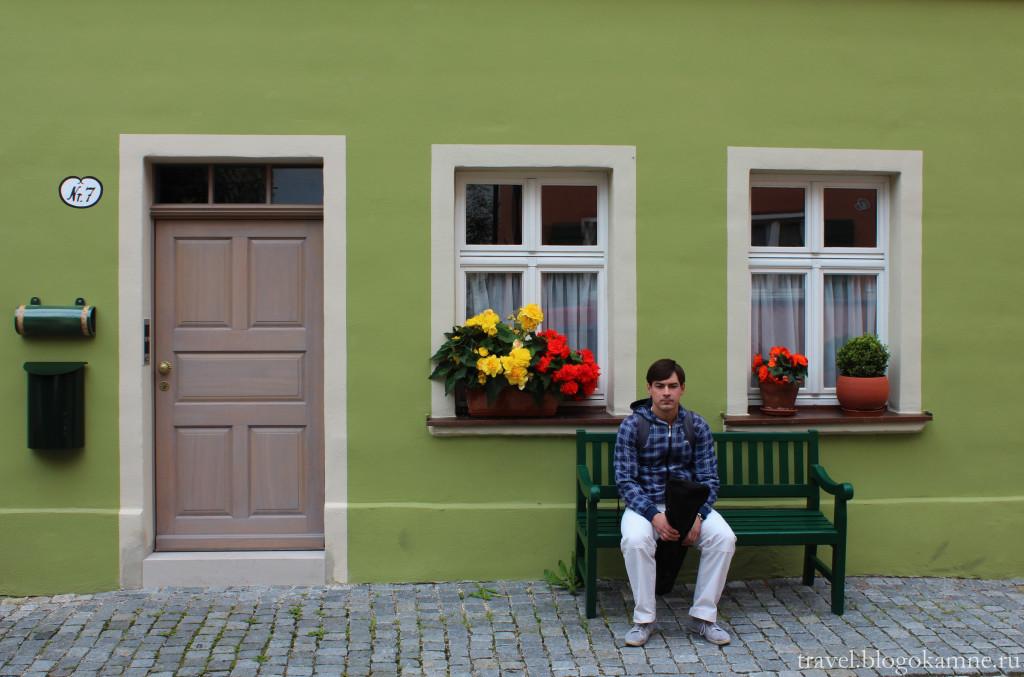 динкельсбюль фото домов
