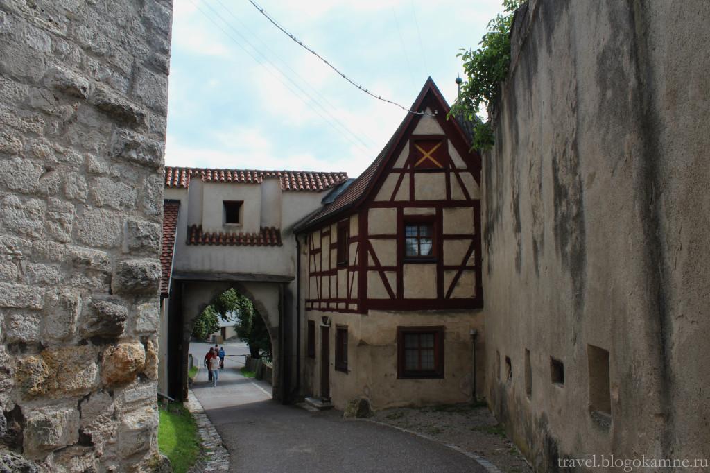 харбург замок