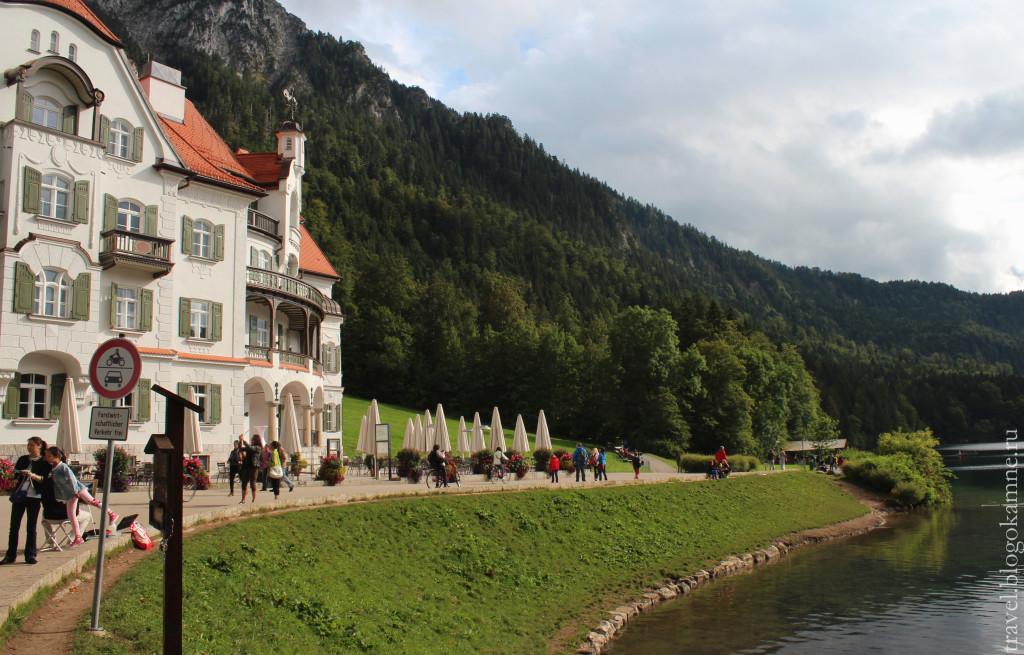 Лебединое озеро в германии