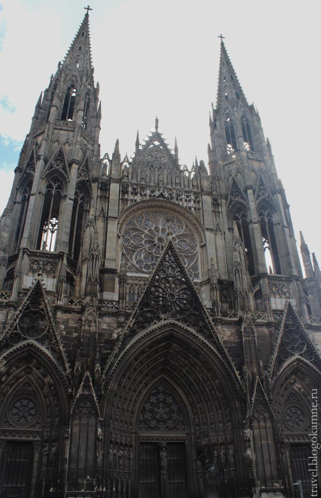 собор в руане во франции