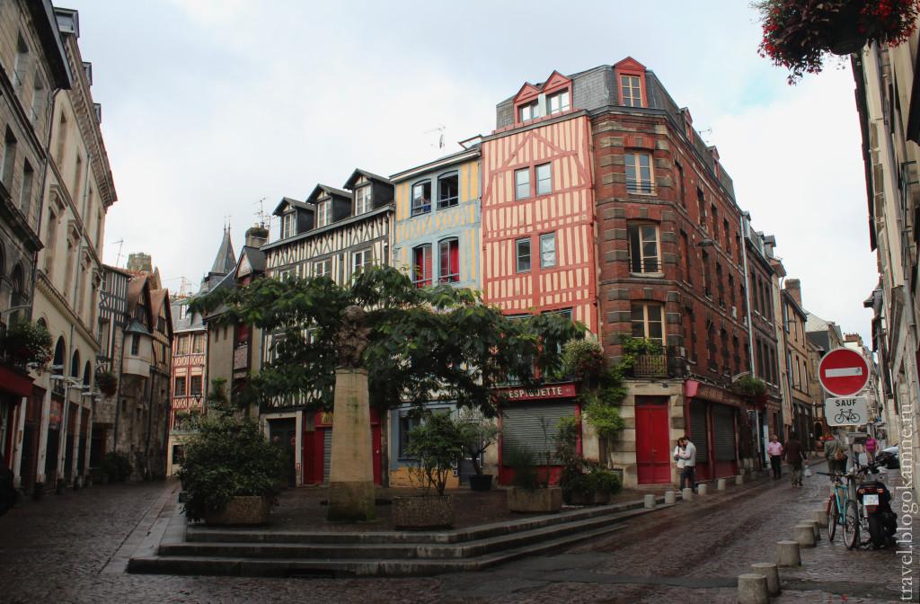 фото города руан