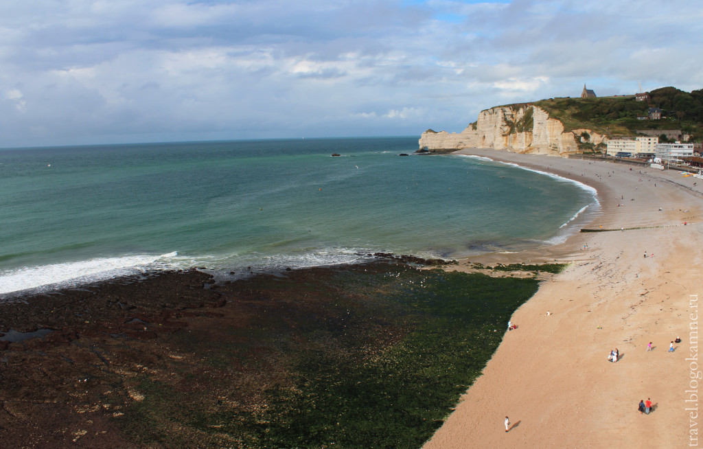 пляж этрета
