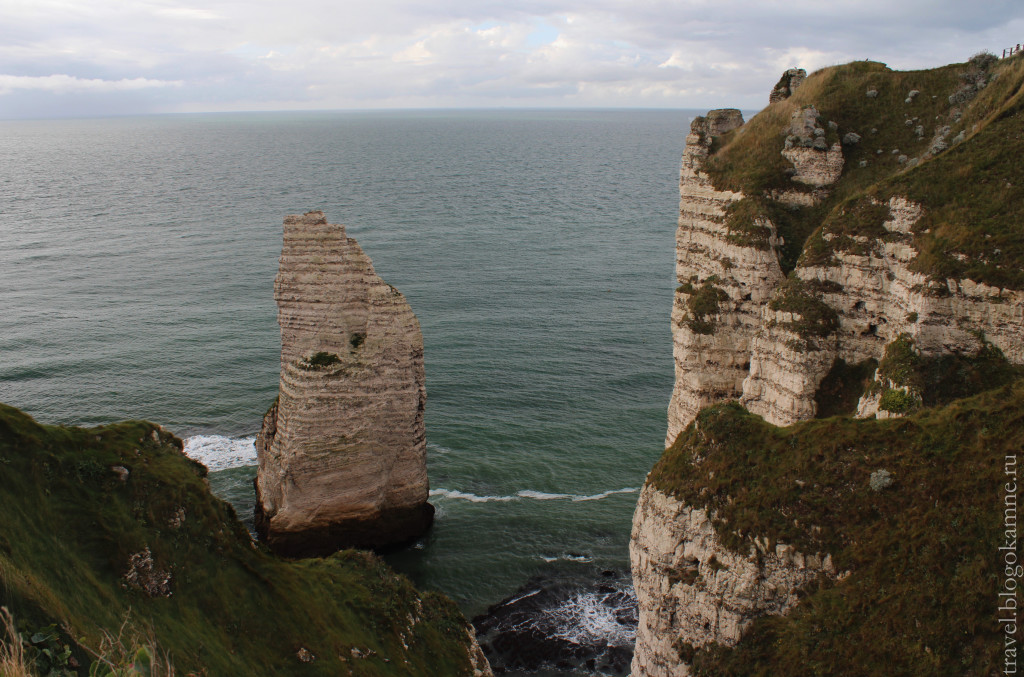 скалы в этрета