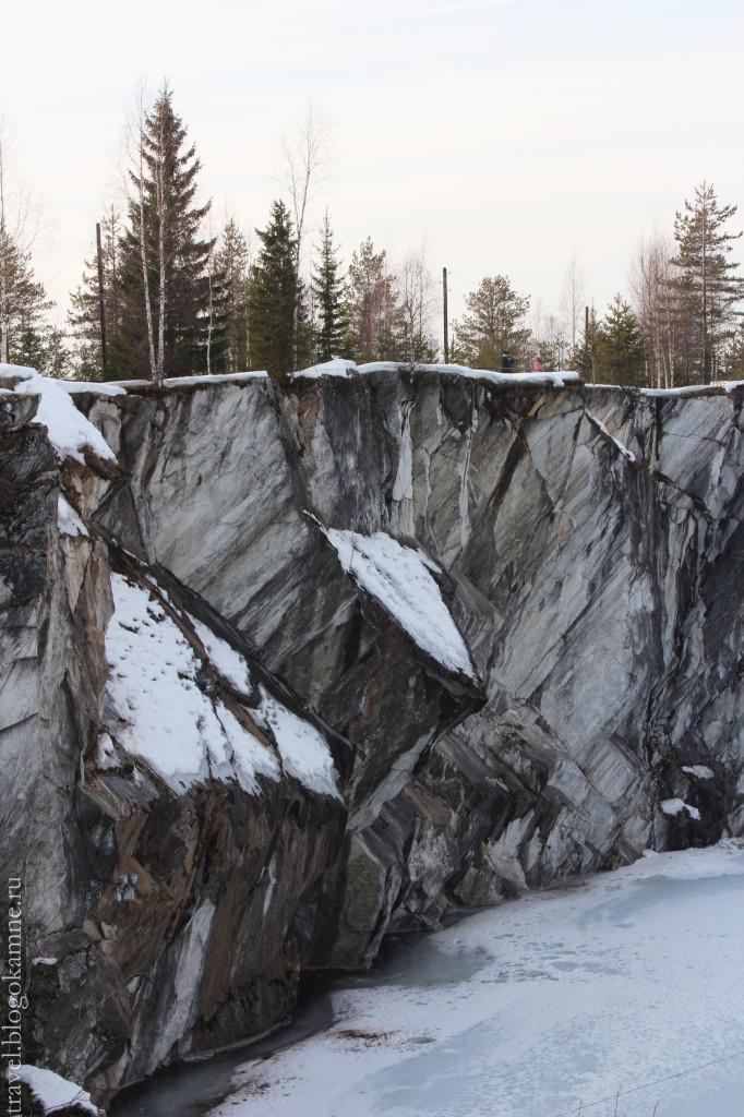 рускеала каньон