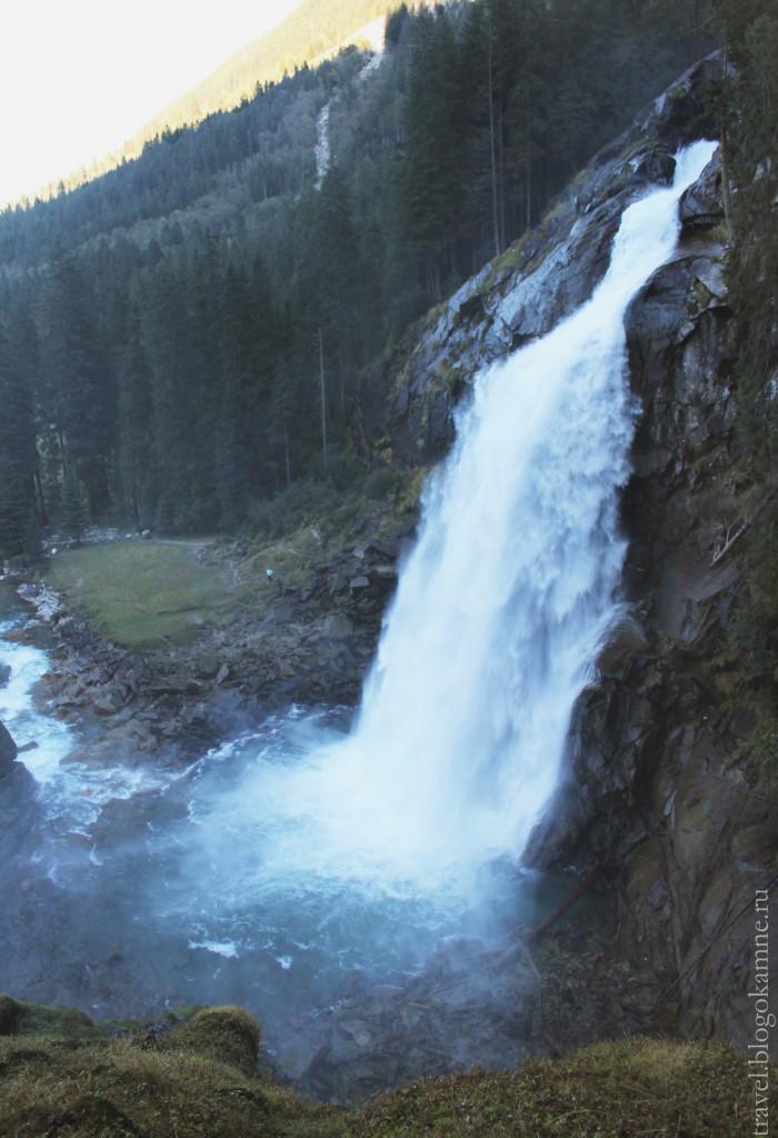 водопад кримль