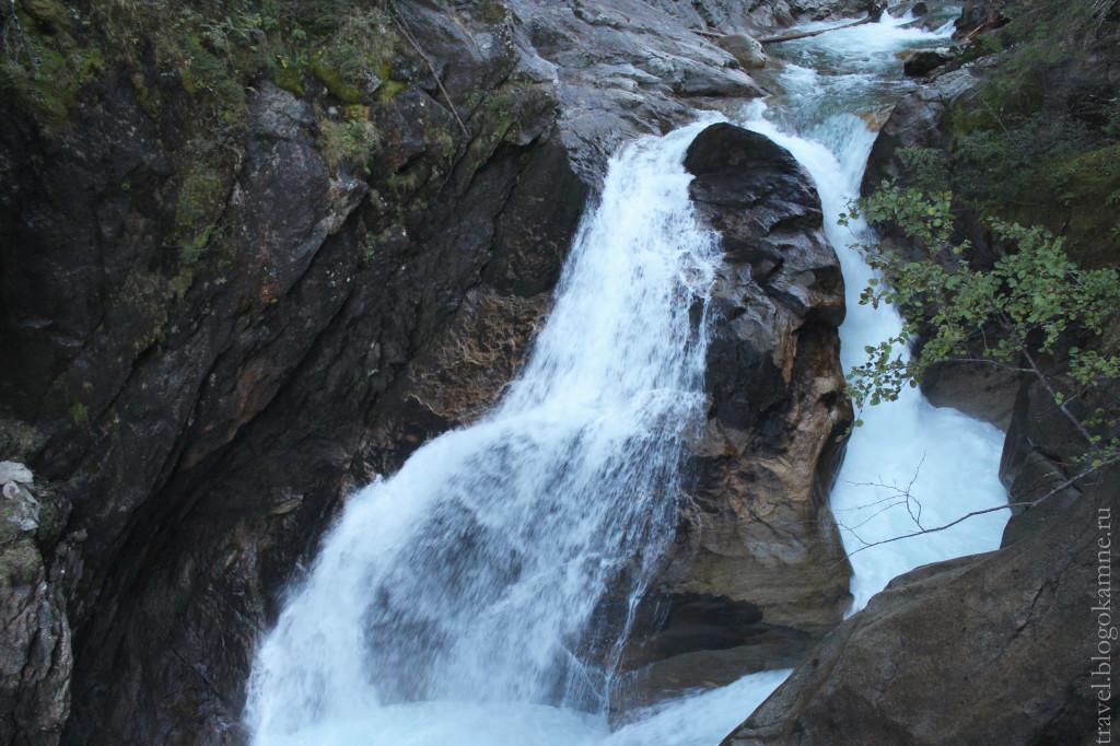 водопад австрия