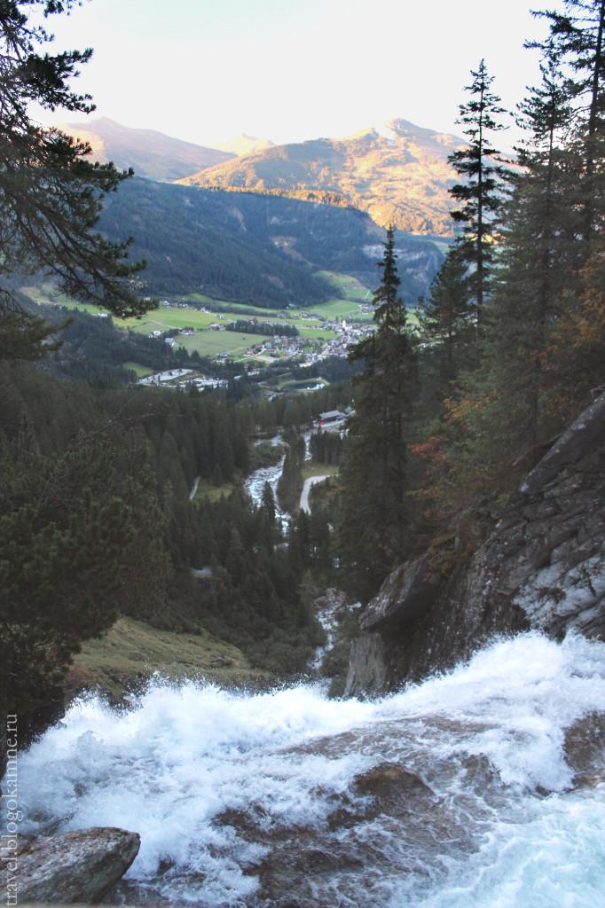 кримль водопад