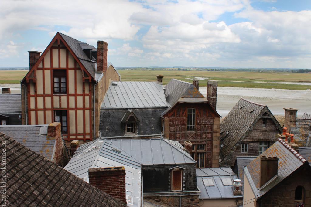 монастырь Мон Сен Мишель