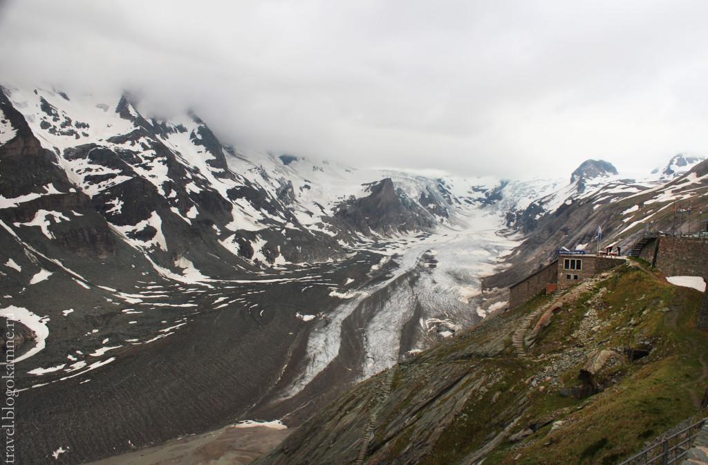 ледник в австрии