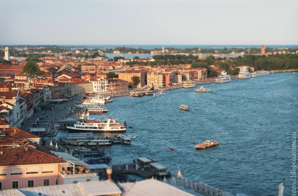 колокольня в венеции