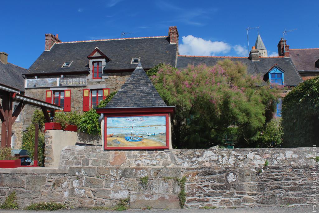 красивые деревни франции